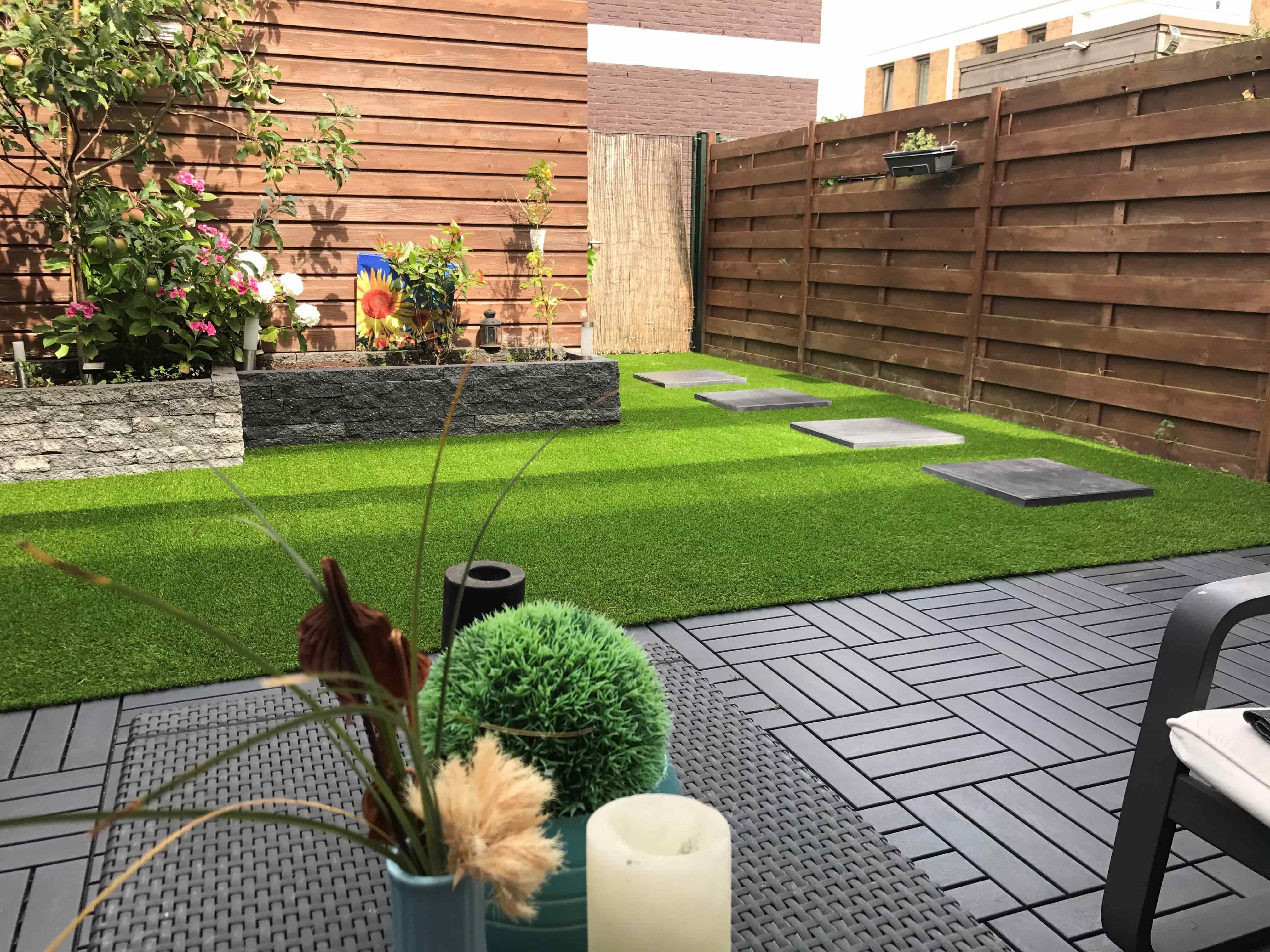 De tuin onderhoudsvrij en budgetvriendelijk inrichten