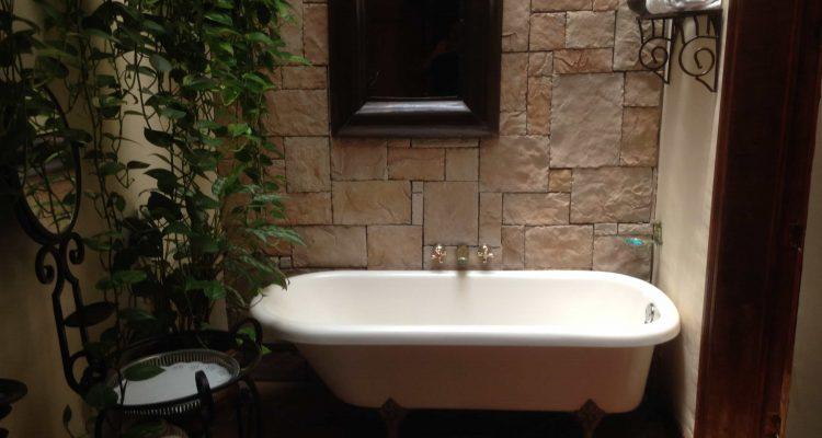 organische badkamer