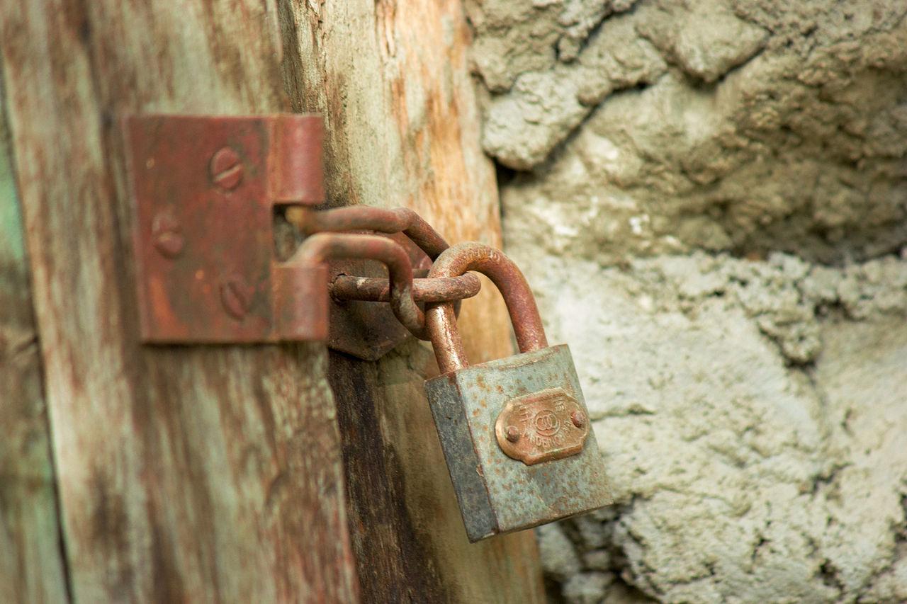 slot op deur