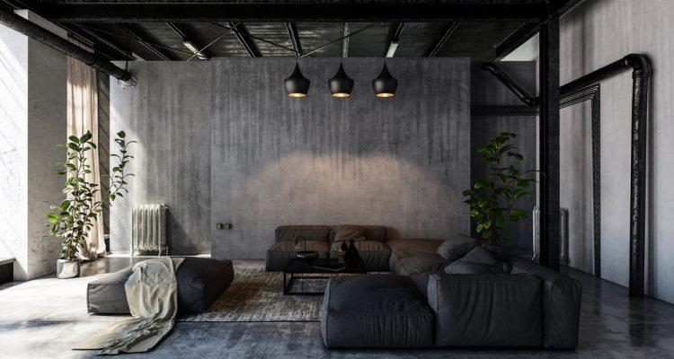 Industrieel interieur, praktisch